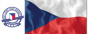 CZECH LOGO FLAG