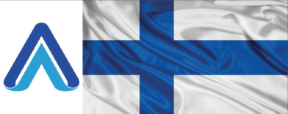 FINLAND LOGO FLAG