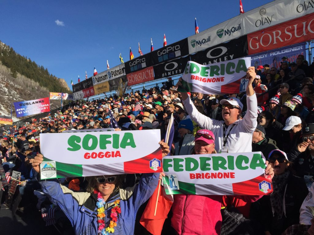 FISI 's Aspen 2017 Ski World Cup finals.