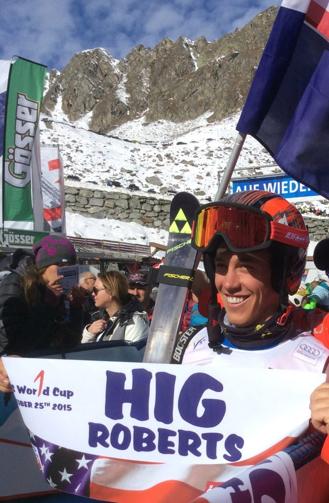 First World Cup start for Hig Roberts