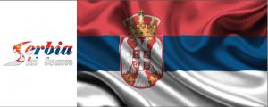 SERBIA LOGO FLAG