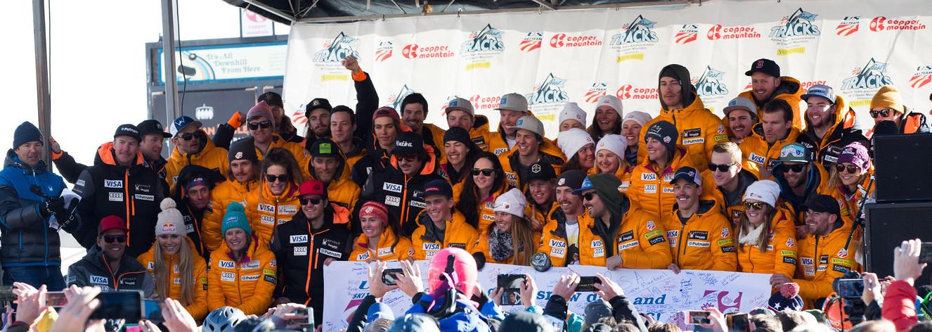 2015-16 Nature Valley First Tracks U.S. Ski Team naming at Copper Mountain, CO. Photo: U.S. Ski Team