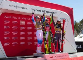 © WorldCupAspen Ladies DH Aspen Ski World cup Finals march 15 2017