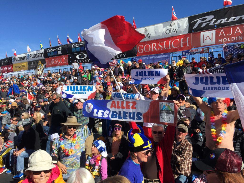 French Julien Lizeroux World Cup Finals  ASPEN 2017