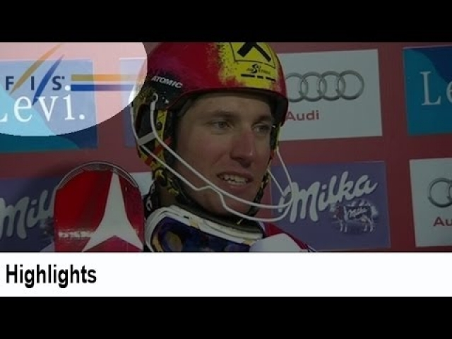 Reigning World Cup champ Marcel Hirscher claims win in the Slalom at Levi  The FIS Alpine Ski World Cup is the top international circuit of Alpine Skiing competitions staged annually. It is considered the premier competition in alpine ski racing together with the quadrennial Olympic Winter Games and the biennial FIS Alpine World Ski Championships. Some experts event consider winning the World Cup to be athletically a more valuable title than winning gold at the Olympic Winter Games or the World Championships, since it requires a competitor to ski at an extremely high level in several events throughout the season, and not just in one race. Today, the FIS Alpine Ski World Cup races are held primarily at famous ski resorts in the European Alps, along with regular stops in Scandinavia, North America, and Far East Asia. Competitors attempt to score a maximum of points during the season in five events: slalom, giant slalom, super-G, downhill and super combined. The fifth event, super-combined, was introduced in 2005 and generally consists of a shorter downhill race and a one-run slalom. Sometimes the downhill is replaced by a super-G. Alpine was added to the Olympic winter schedule in 1936.  For further information about FIS Alpine visit:  http://www.fis-ski.com/alpine-skiing/  Like us on Facebook: https://www.facebook.com/fisalpine  Follow us on Twitter: https://twitter.com/fisalpine