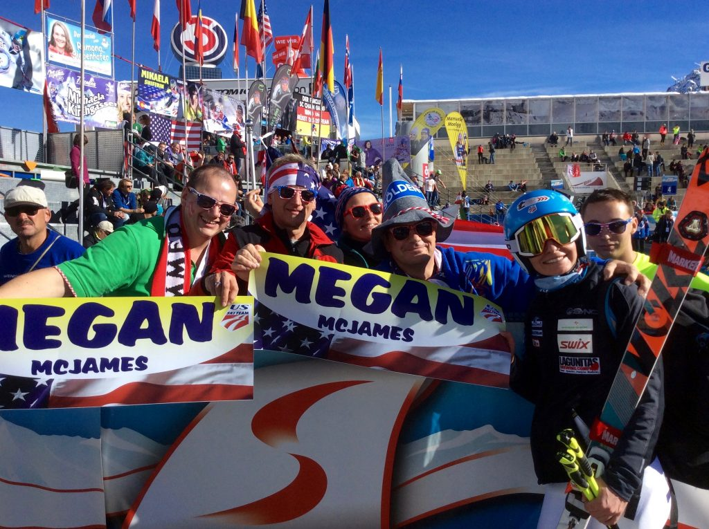 U.S Ski Team member Megan Mc JAMES