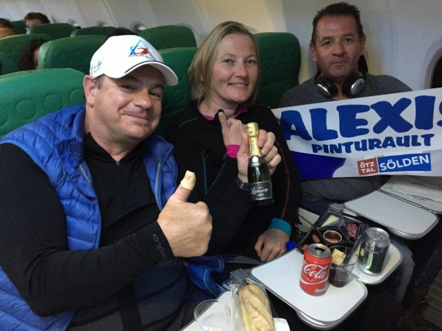 Happy Alexis PINTURAULT fans.. We fly all around Europe with TRANSAVIA