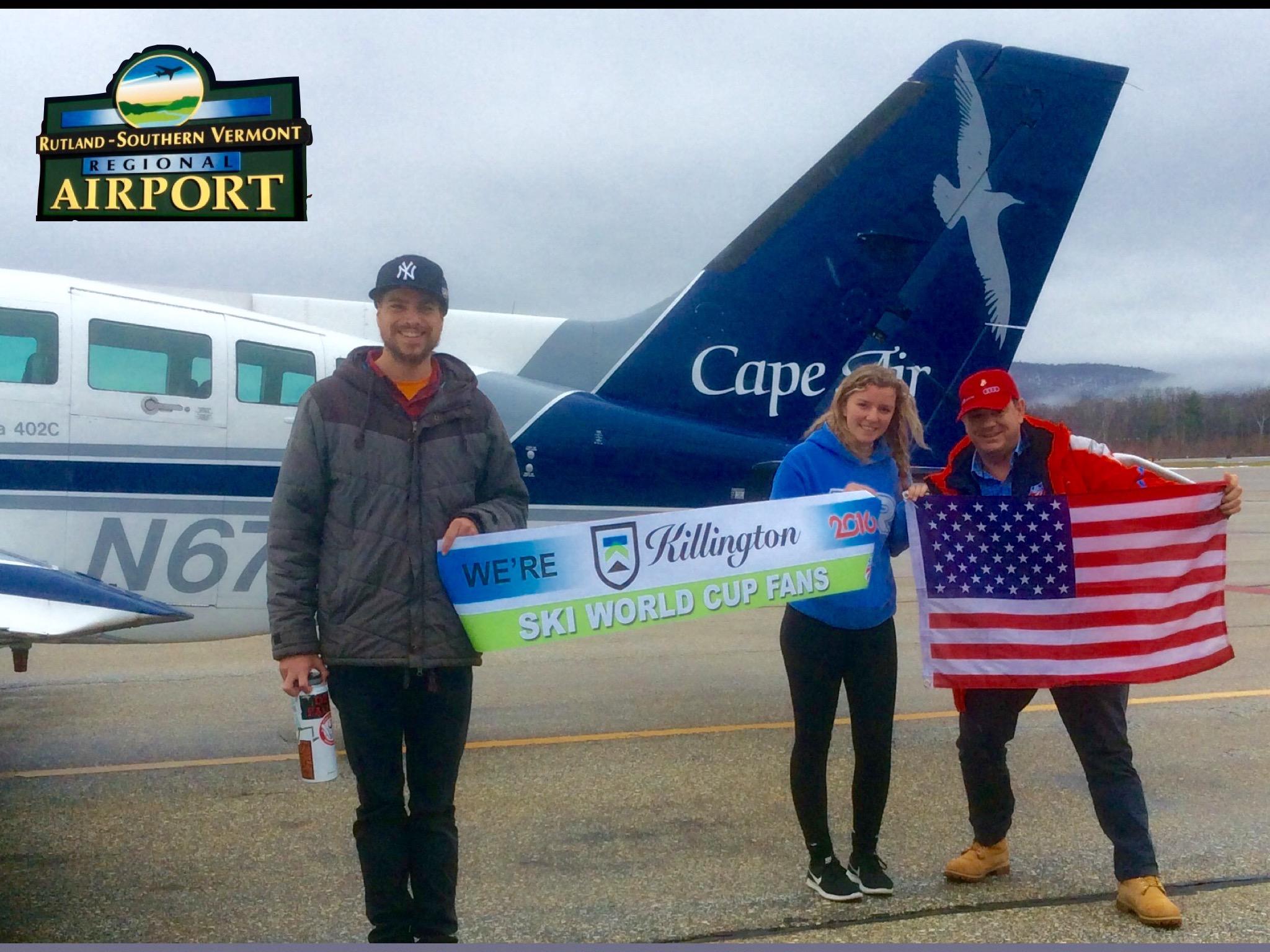 Cape Air crew..