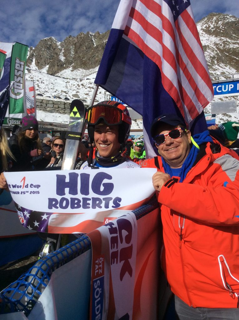 HIG Roberts First world cup start at Solden 2015