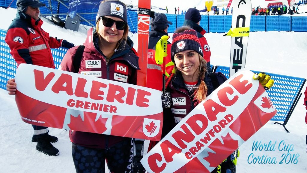 Valerie GRENIER, Candace CRAWFORD, Cortina2018