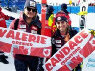 Valerie GRENIER, Candace CRAWFORD, Cortina2018