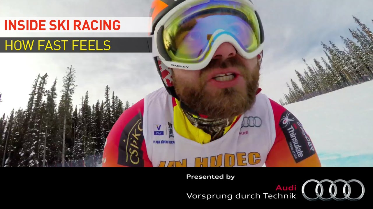Going fast is one thing…but going so fast everything around you disappears is another! We hear from Alpine Canada Alpin athletes about how fast is fast and what they do when the pedal is to the medal!