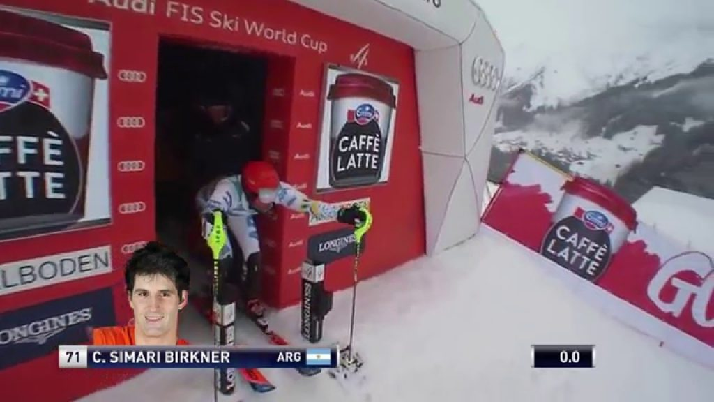 1st run SL world Cup Adelboden 2016
