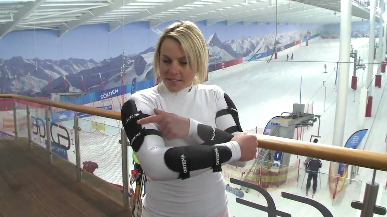 Former Top GB skier Chemmy Alcott shows what makes her go faster on the slopes
