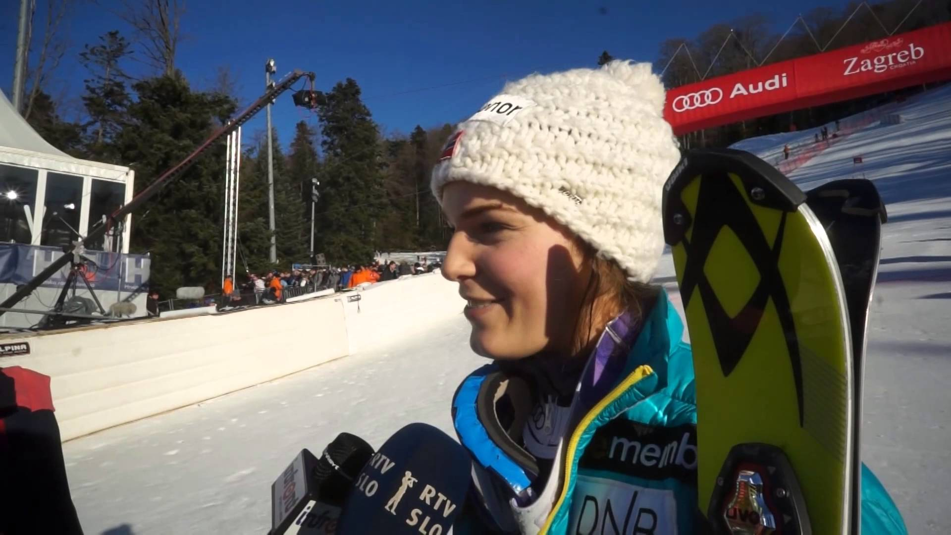 4.1.2015. - Vip Snow Queen Trophy Ladies' Slalom - Nina Loeseth won her first place at podium in a career, coming third after Mikaela Shiffrin and Kathrin Zettel.
