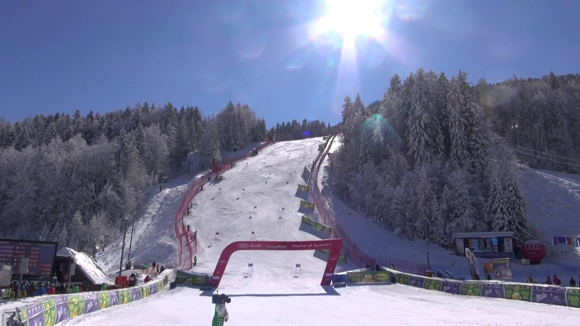 SLOSKI skier Žan Kranjec make up to the 16th place at the GS race Vitranc Cup 2016. Žan Kranjec se je pred domačo publiko na Pokalu Vitranc 2016 uvrstil na 16. mesto.