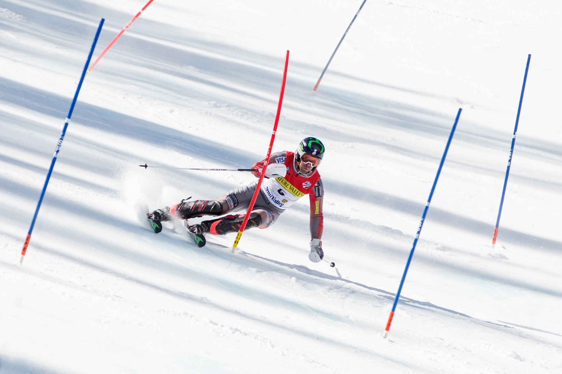 SUN VALLEY, ID (March 25, 2016) – David Chodounsky's winning slalom runs at the 2016 U.S. Alpine Championships in Sun Valley, Idaho.