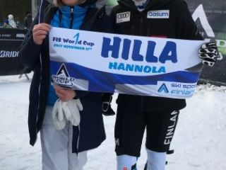 Hilla HANNOLA First World Cup start
