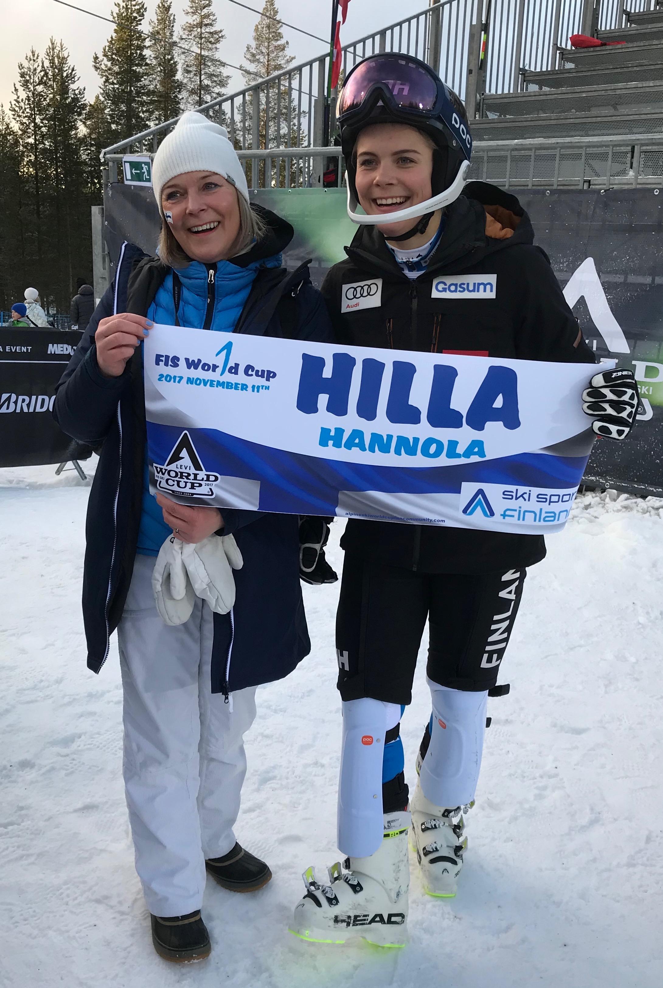 Hilla HANNOLA First World Cup start