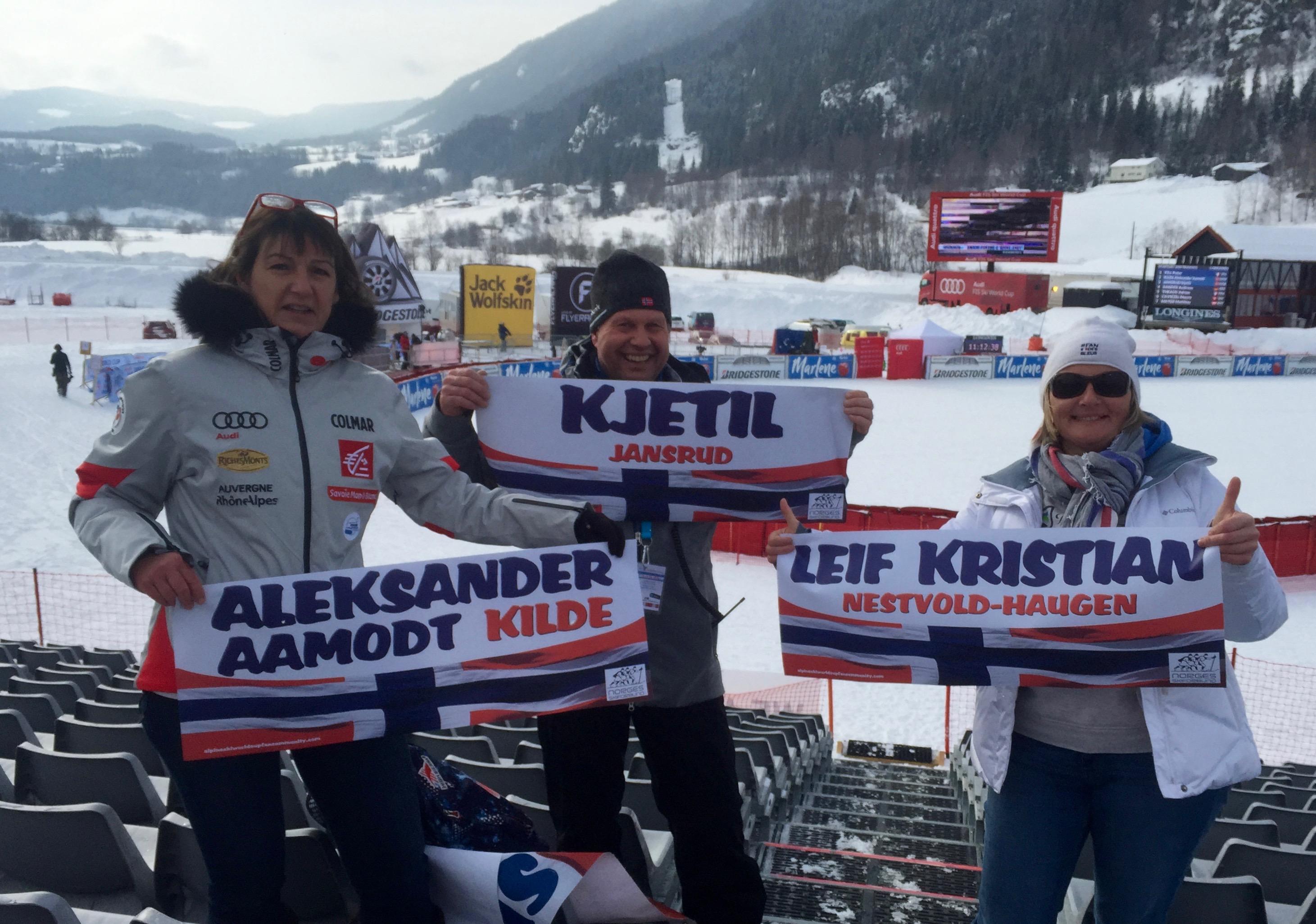 Aleksander Aamodt KILDE ; Leif Kristian NESTVOLD-HAUGEN & Kjetil JANSRUD