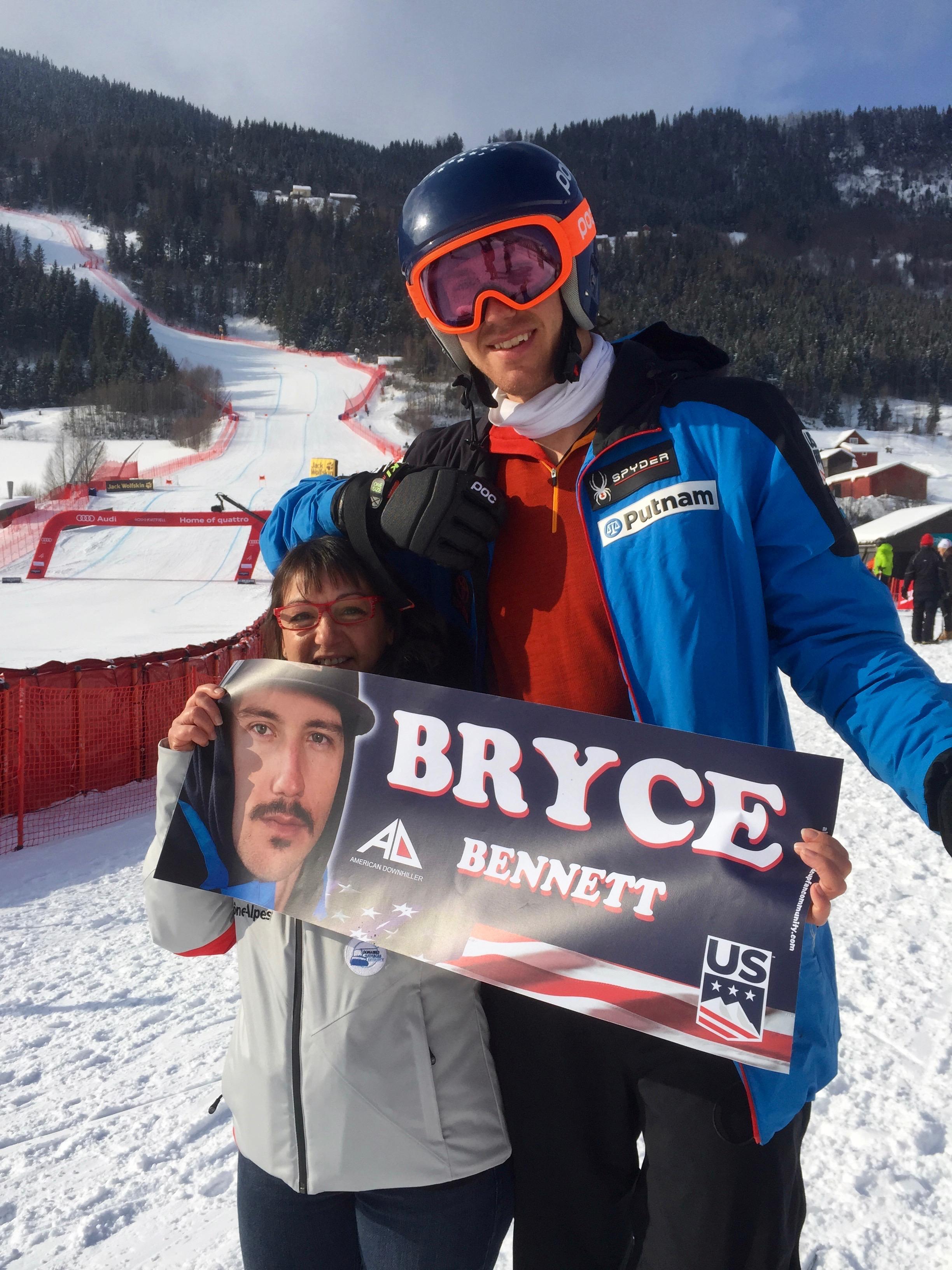 Bryce BENNETT, #WorldCupKvitfjell