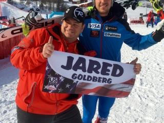 Jared GOLDBERG,  #WorldCupKvitfjell