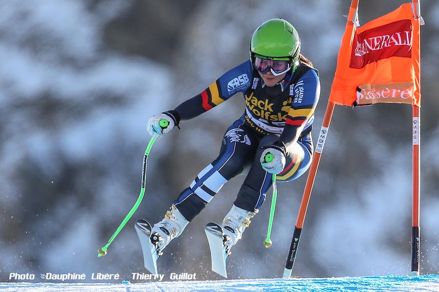 Ania Monica at Val d'Isère Critérium de la première neige 2015